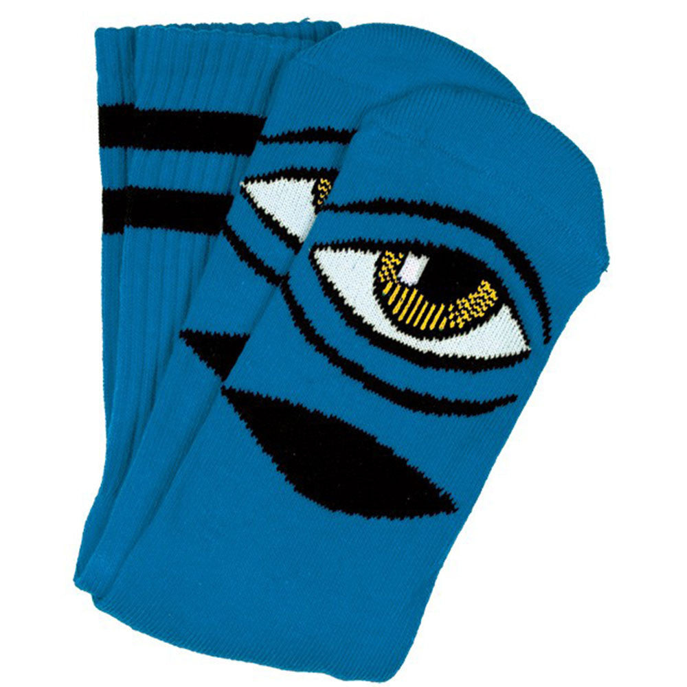 Toy Machine Sect Eye III - Aqua - Men's Socks (1 Pair)