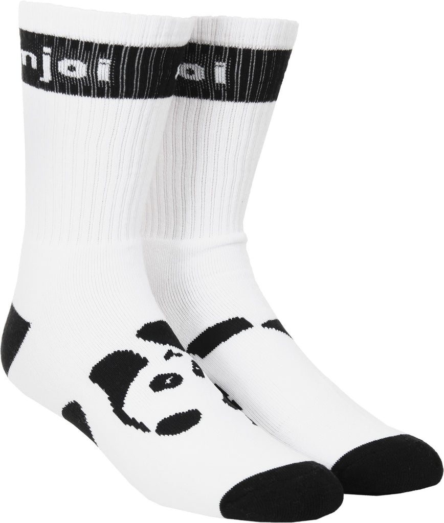 Enjoi Panda Feet - White - Mens Socks (1 Pair)