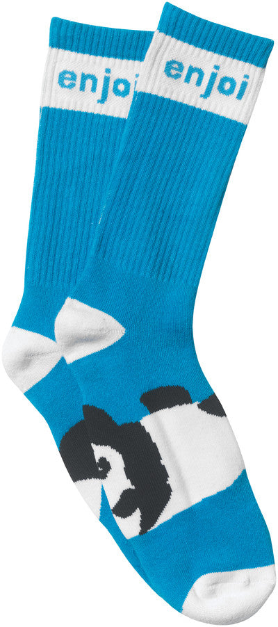 Enjoi Panda Feet - Blue - Mens Socks (1 Pair)