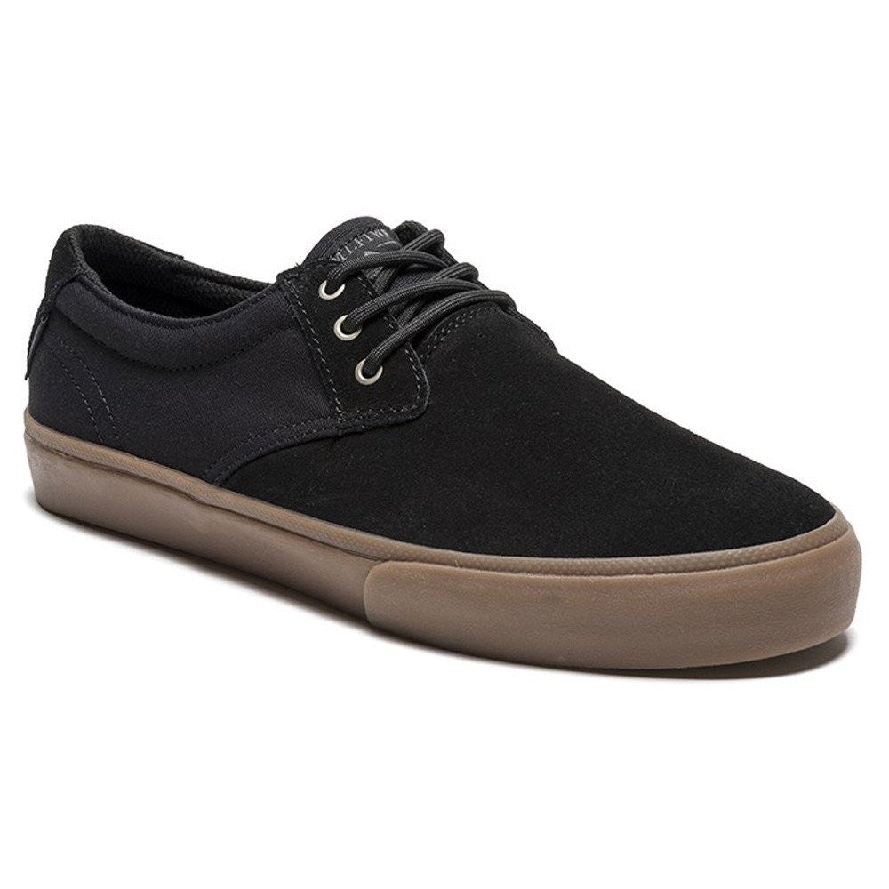 Lakai MJ - Black/Gum Suede - Men's Skateboard Shoes