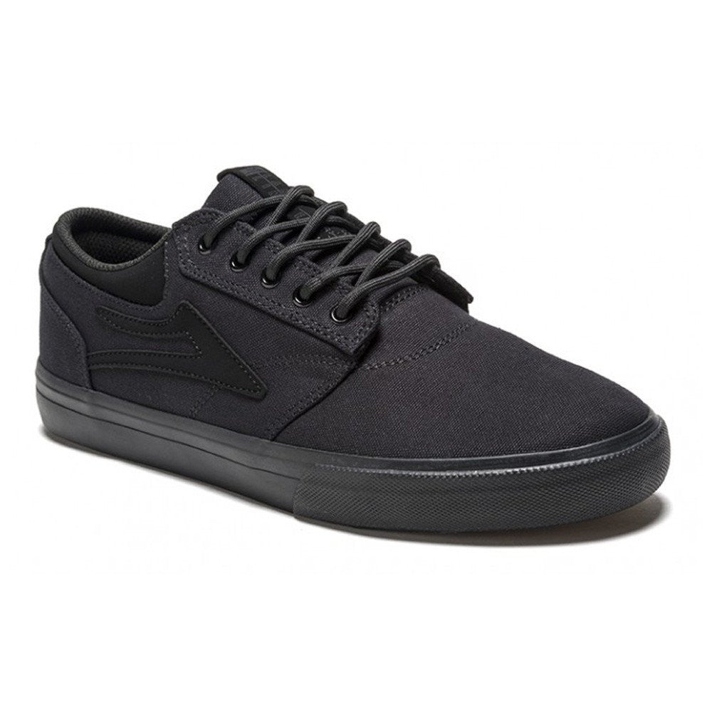 Lakai Griffin - Black/Black Canvas - Men's Skateboard Shoes
