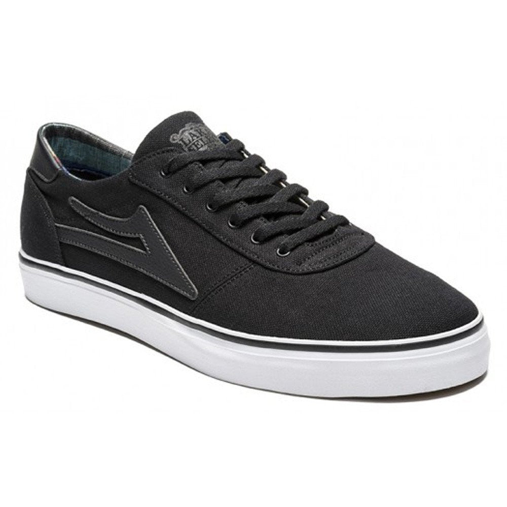Lakai Manchester Lean - Black Canvas - Men's Skateboard Shoes