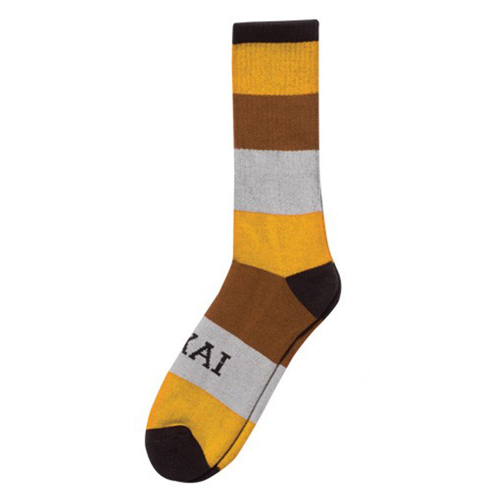 Lakai Stripe - Yellow - Men's Socks (1 Pair)