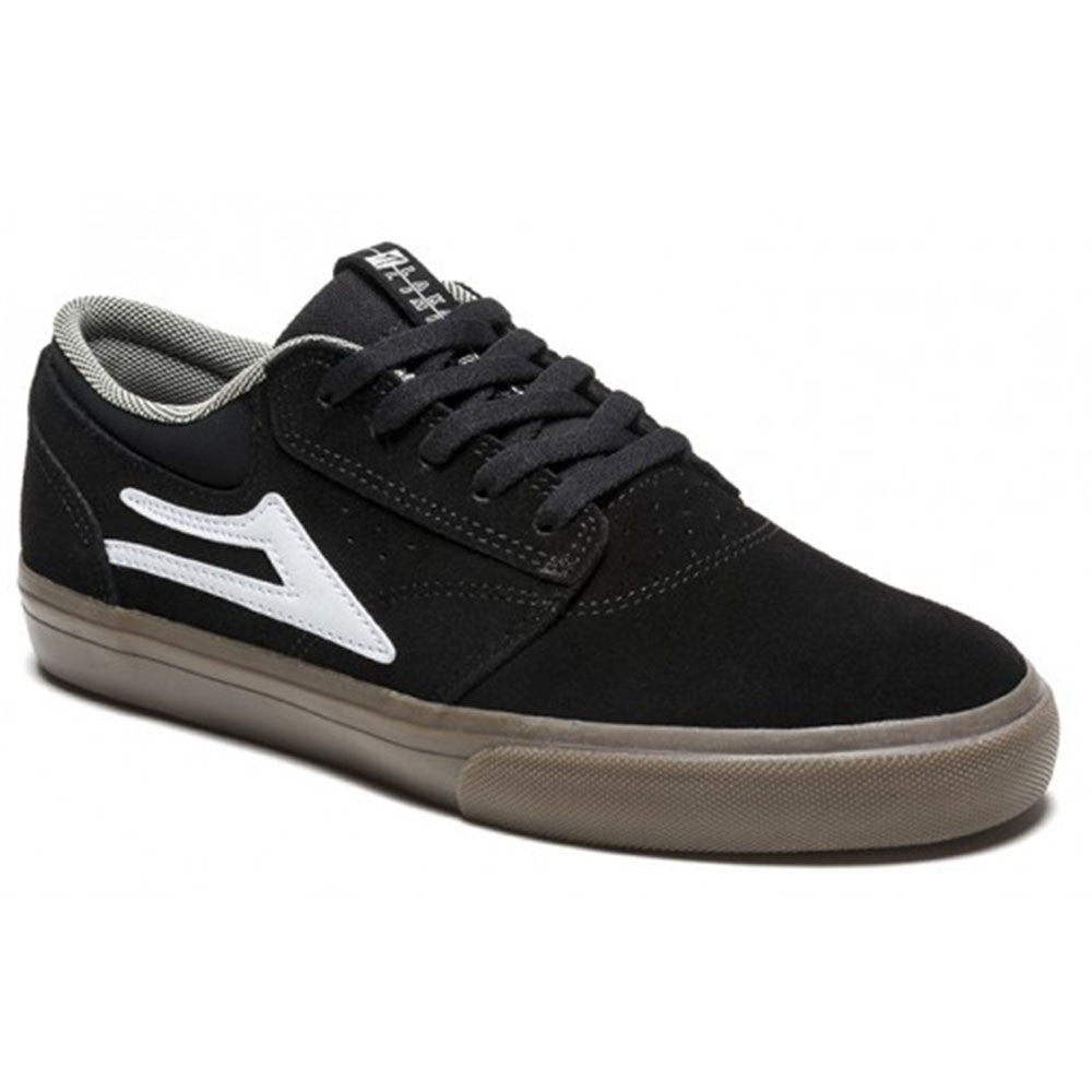 Lakai Griffin - Black/Gum Suede - Men's Skateboard Shoes