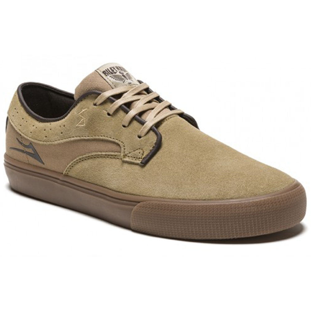 Lakai Riley Hawk - Walnut Suede - Men's Skateboard Shoes