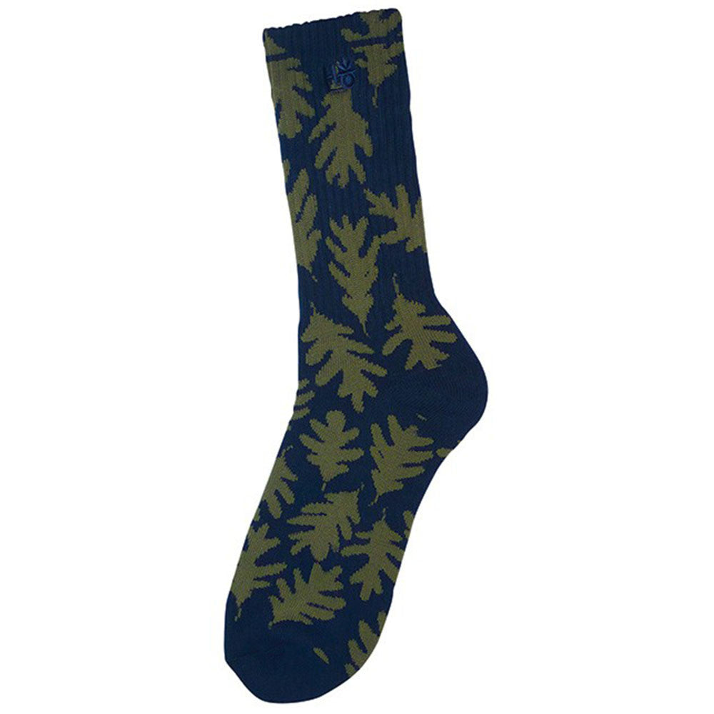 Habitat Leaves - Navy/Army - Men's Sock (1 Pair)
