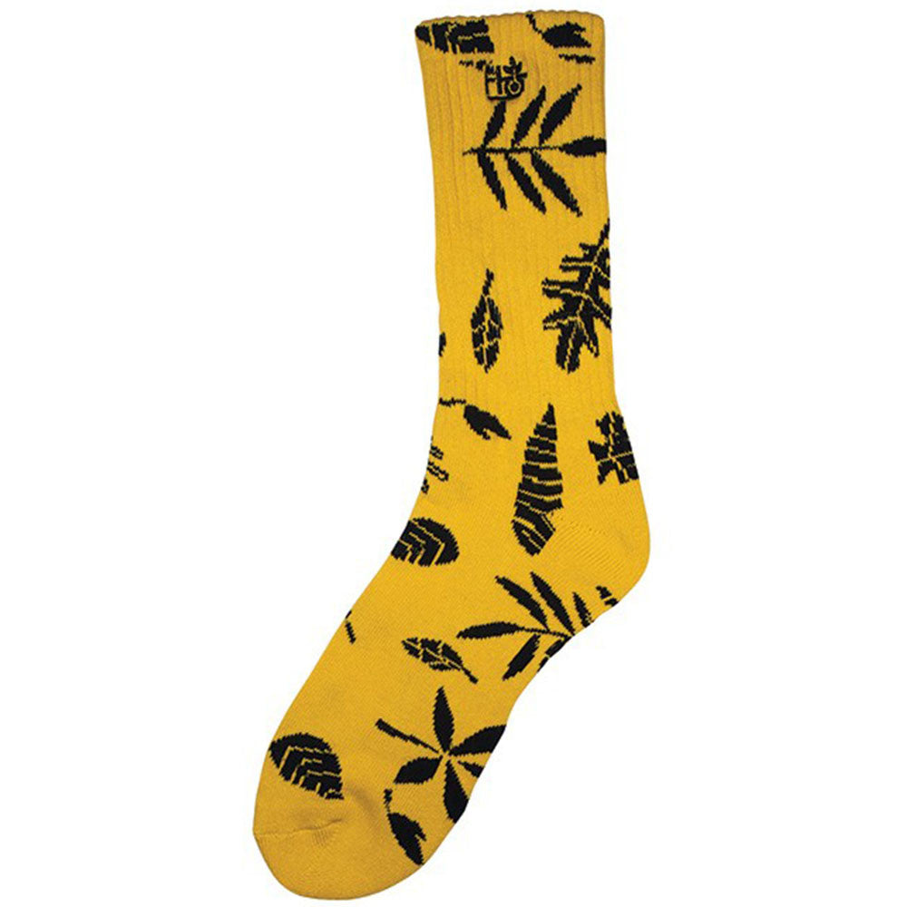 Habitat Foliage - Yellow/Black - Men's Sock (1 Pair)