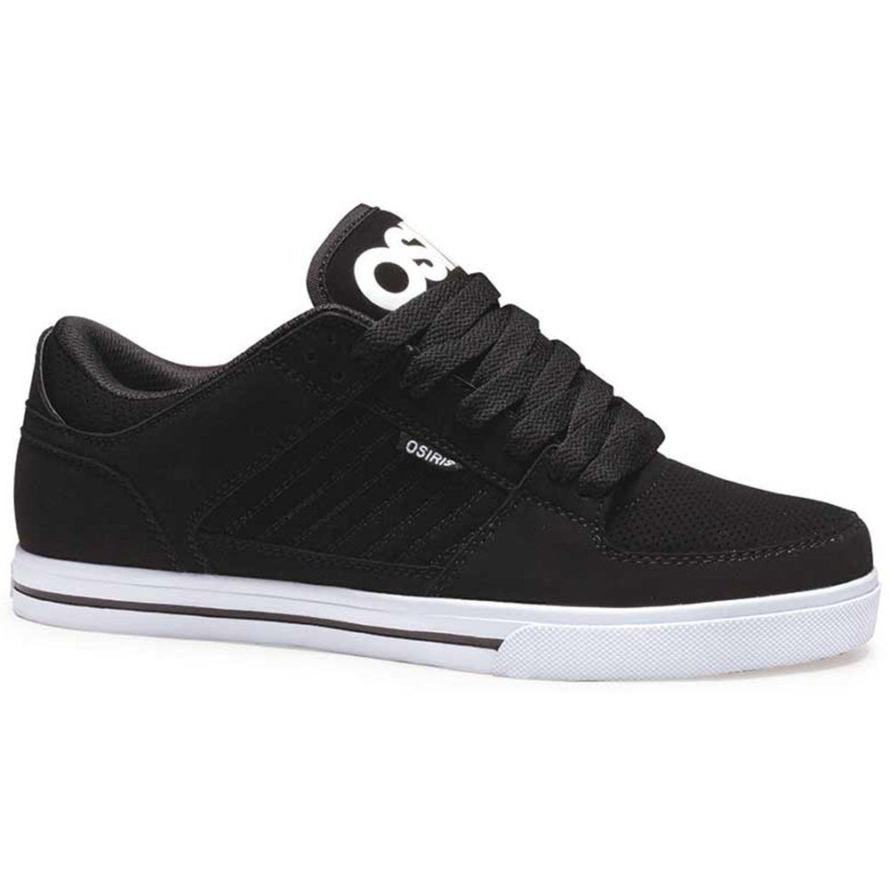 Osiris Protocol - Black/Black/White - Men's Skateboard Shoes