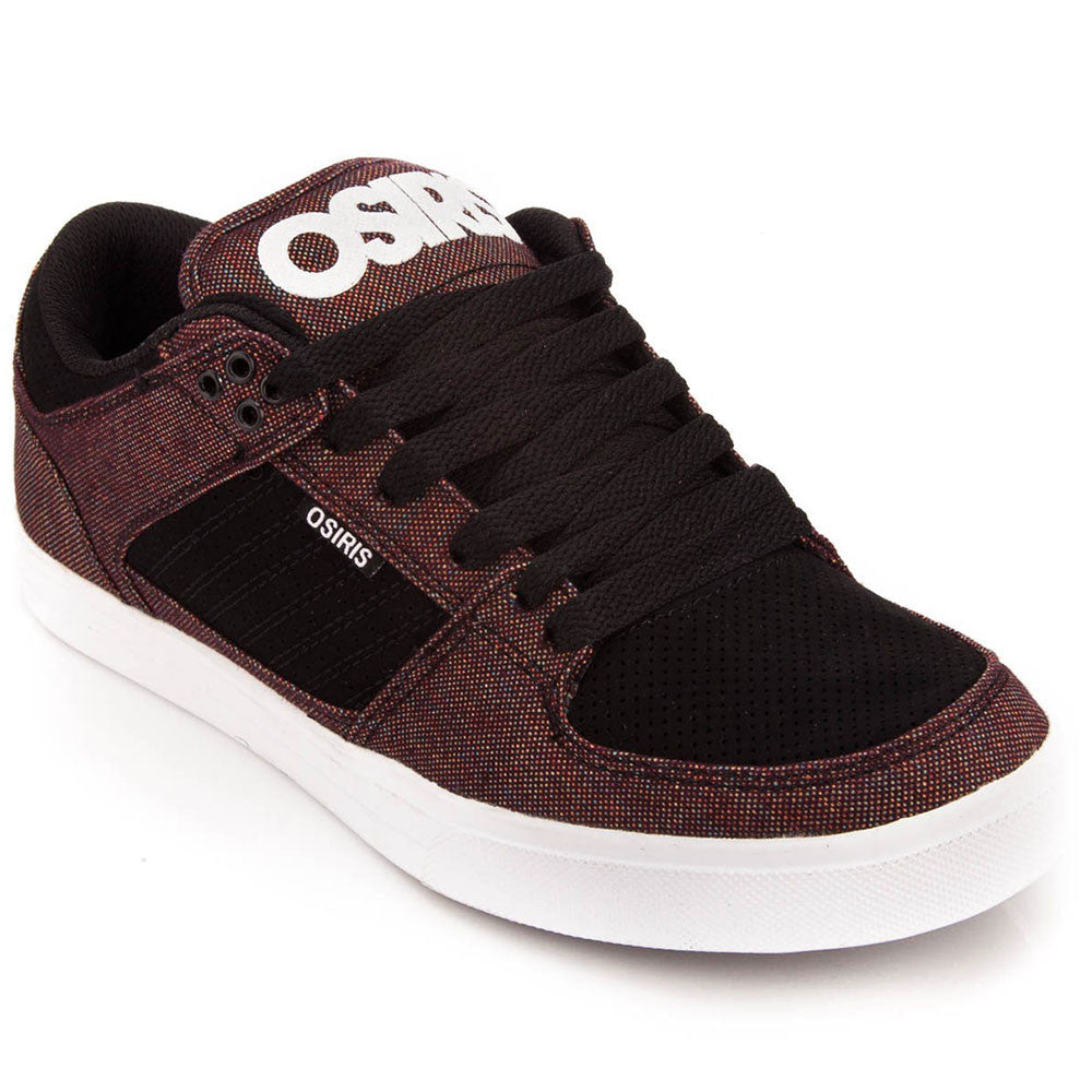 Osiris Protocol - Black/White/Triple Canvas - Men's Skateboard Shoes