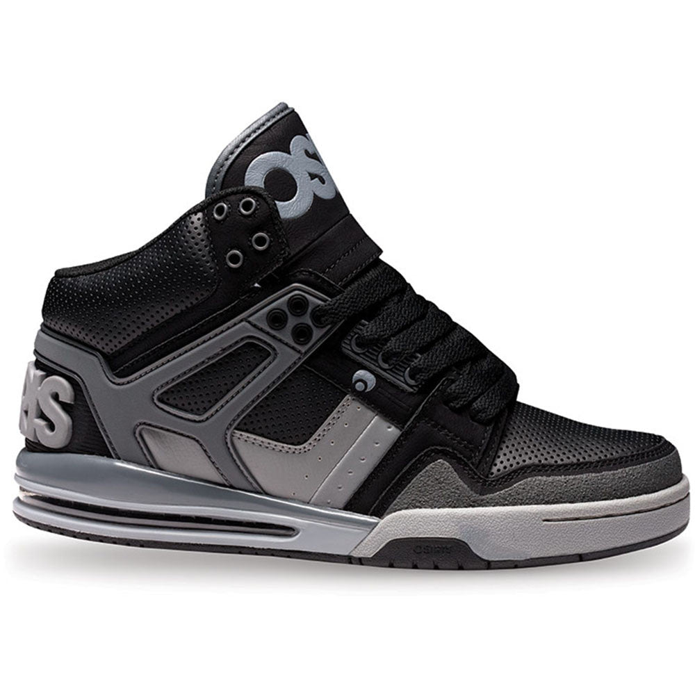Osiris Rucker - Black/Charcoal - Men's Skateboard Shoes