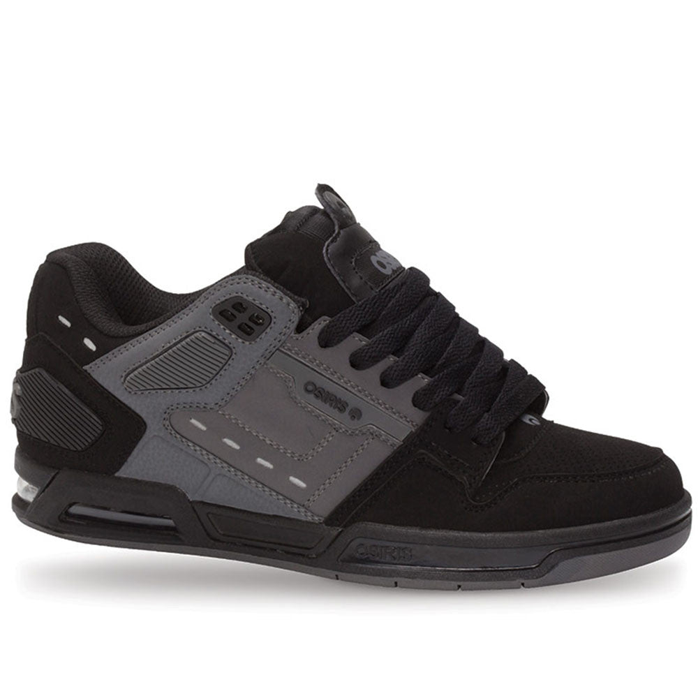 Osiris Peril - Black/Charcoal/Black - Men's Skateboard Shoes