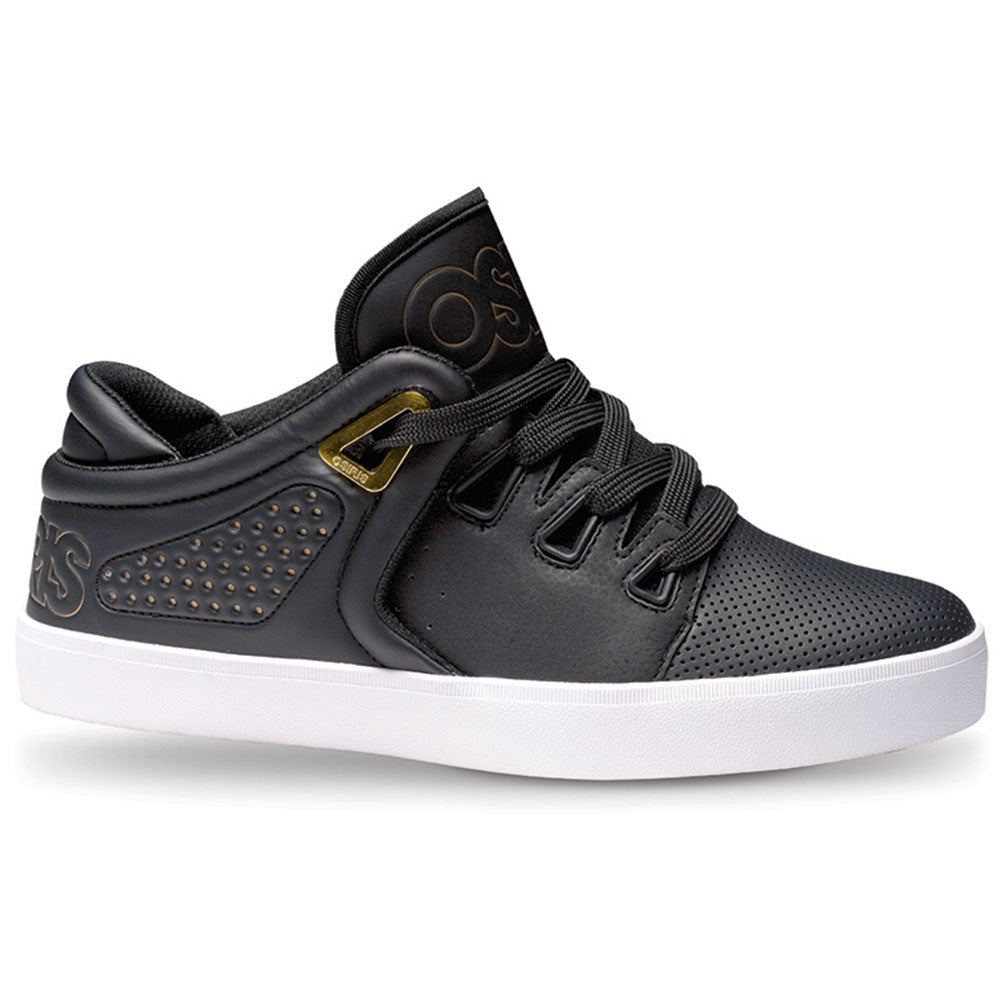 Osiris D3V - Black/Gold/White - Men's Skateboard Shoes