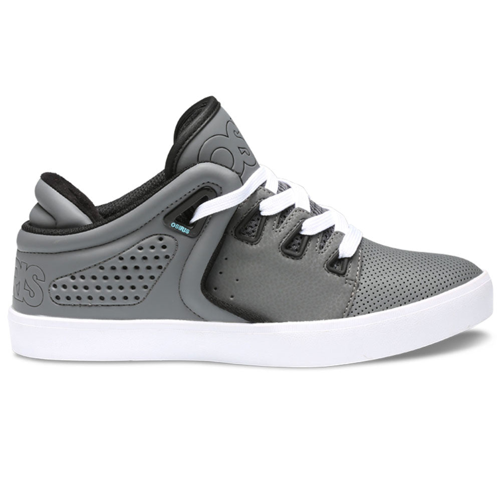 Osiris D3V - Charcoal/White/Blue - Men's Skateboard Shoes