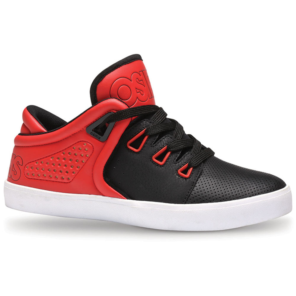 Osiris D3V - Red/Black/White - Men's Skateboard Shoes