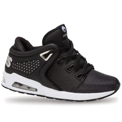 Osiris D3R1 - Black/White/Silver - Men's Skateboard Shoes