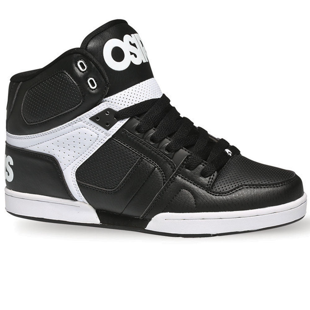 Osiris NYC 83 - Black/White/White - Men's Skateboard Shoes