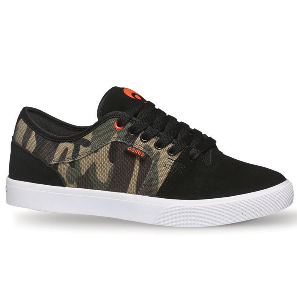 Osiris Decay - Black/Camo - Men's Skateboard Shoes