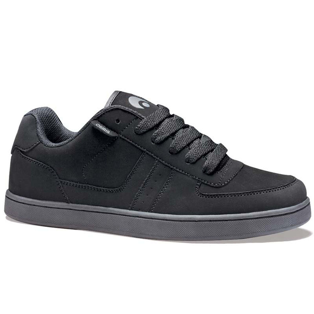 Osiris Relic - Black/Charcoal/Black - Men's Skateboard Shoes
