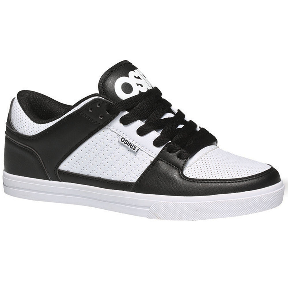 Osiris Protocol - White/Black - Men's Skateboard Shoes