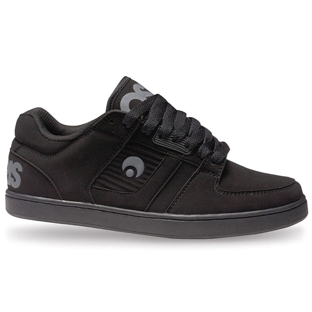 Osiris Script - Black/Black/Charcoal - Men's Skateboard Shoes