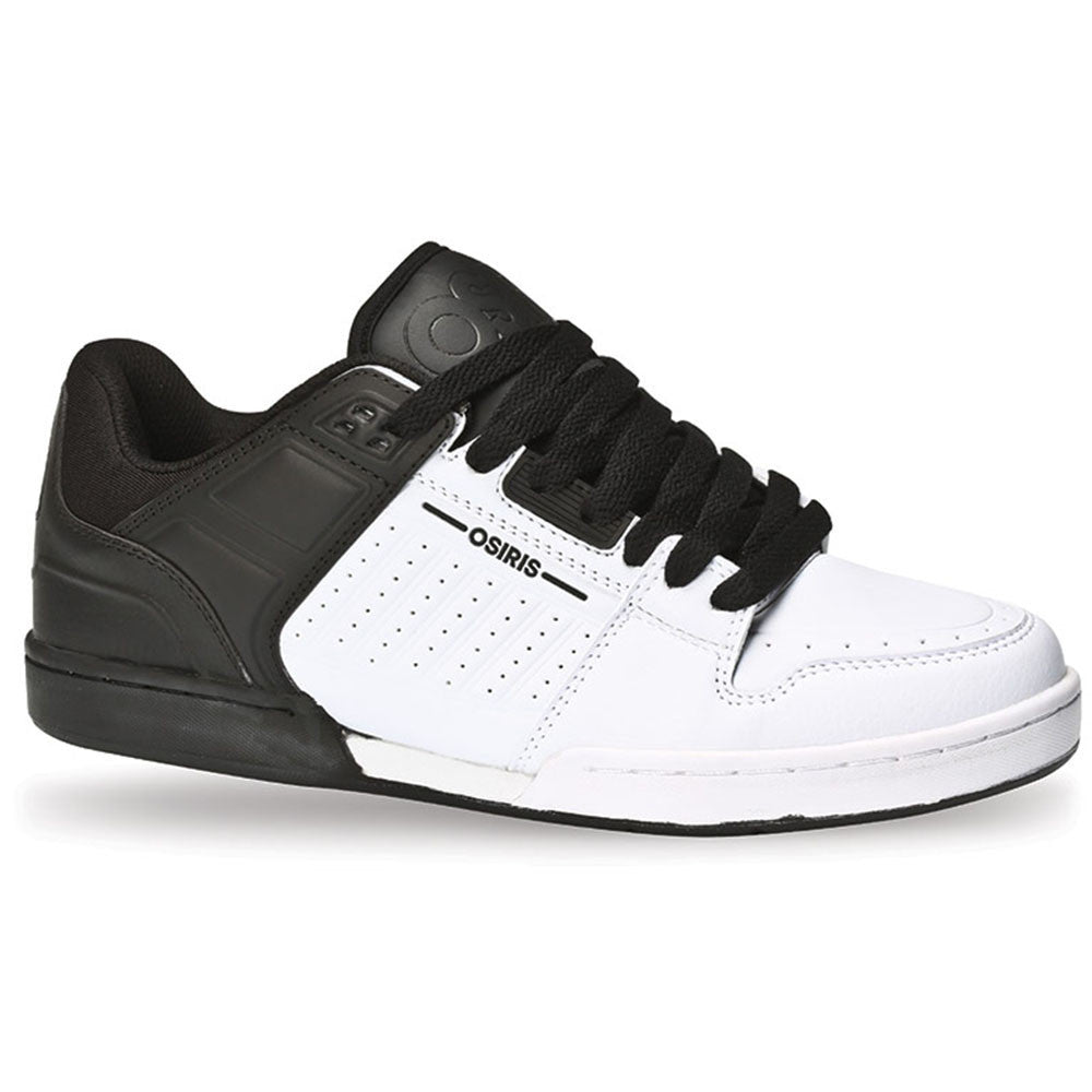 Osiris Protocol XPD - White/Black - Men's Skateboard Shoes