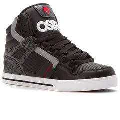 Osiris Clone - Black/White/Red - Men's Skateboard Shoes