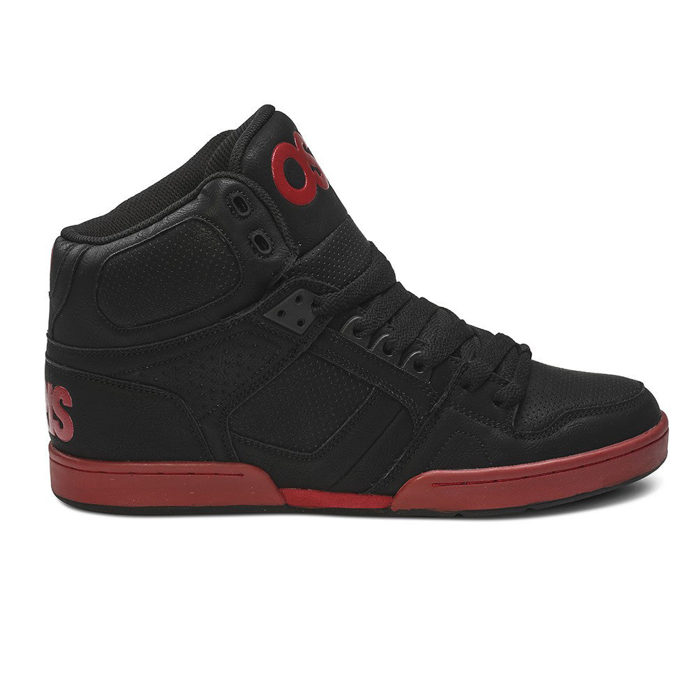 Osiris NYC 83 - Black/Red - Men's Skateboard Shoes