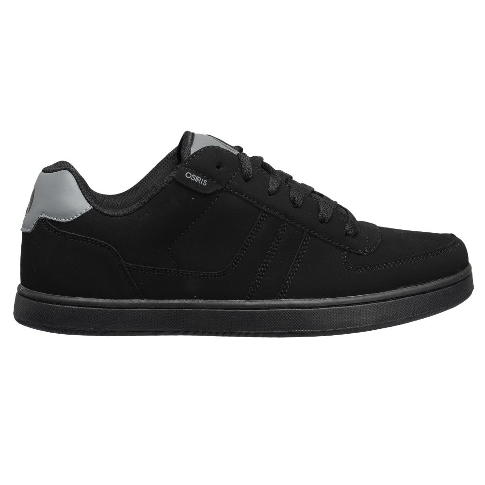 Osiris Relic - Black/Charcoal/Charcoal - Men's Skateboard Shoes
