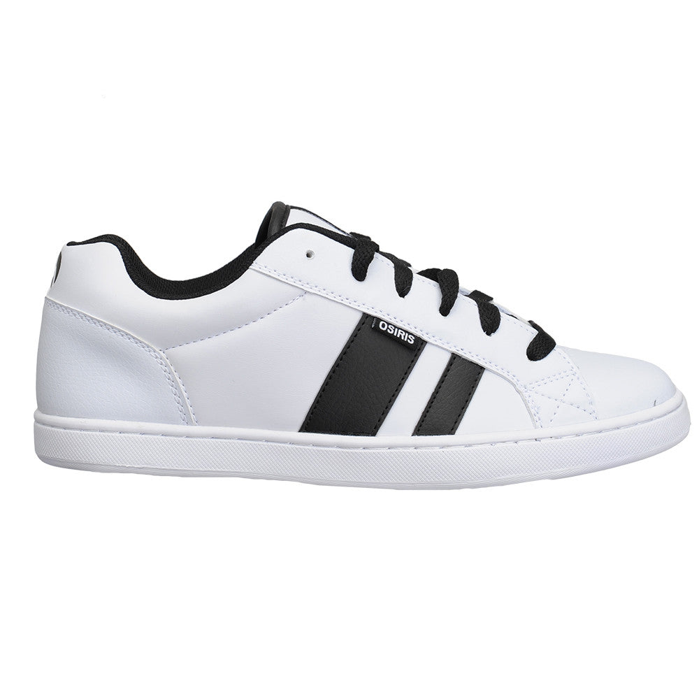 Osiris Loot - White/White - Men's Skateboard Shoes