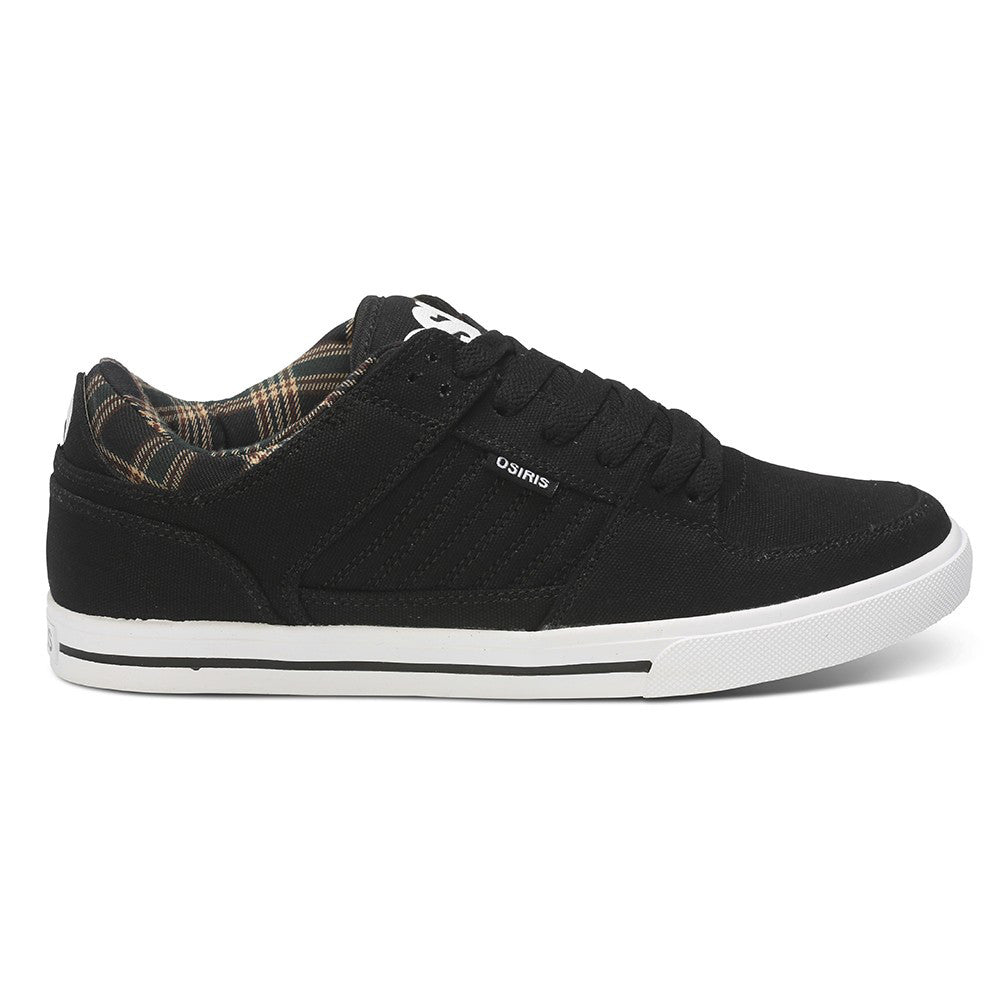 Osiris Protocol - Black/Plaid - Men's Skateboard Shoes