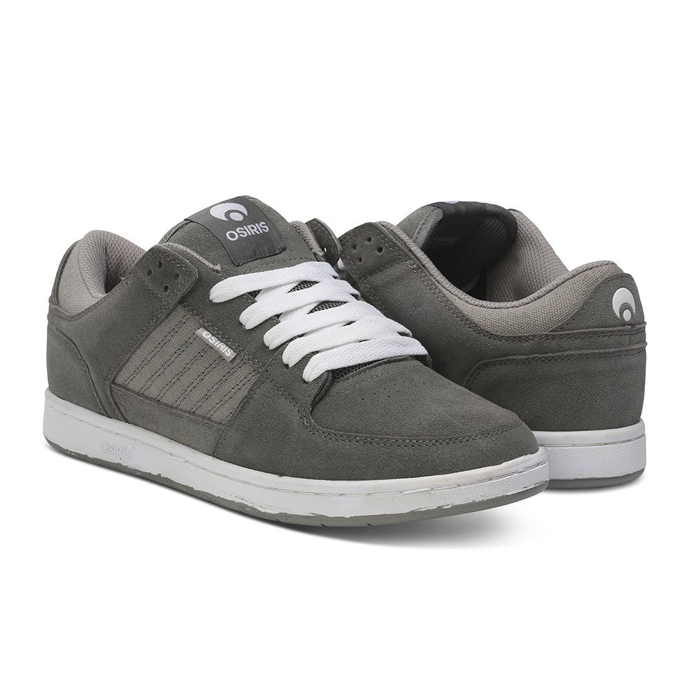 Osiris Protocol SLK - Grey/White - Men's Skateboard Shoes