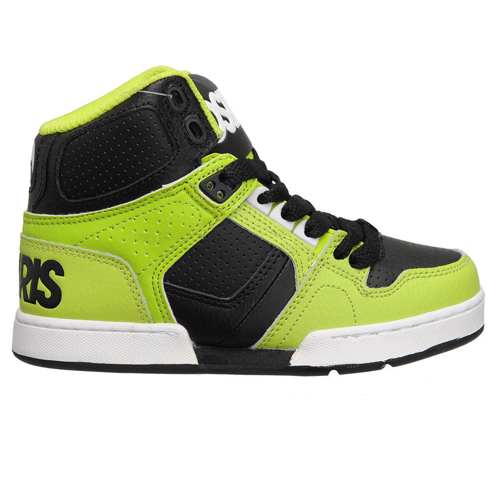Osiris NYC 83 - Lime/White - Boy's Skateboard Shoes