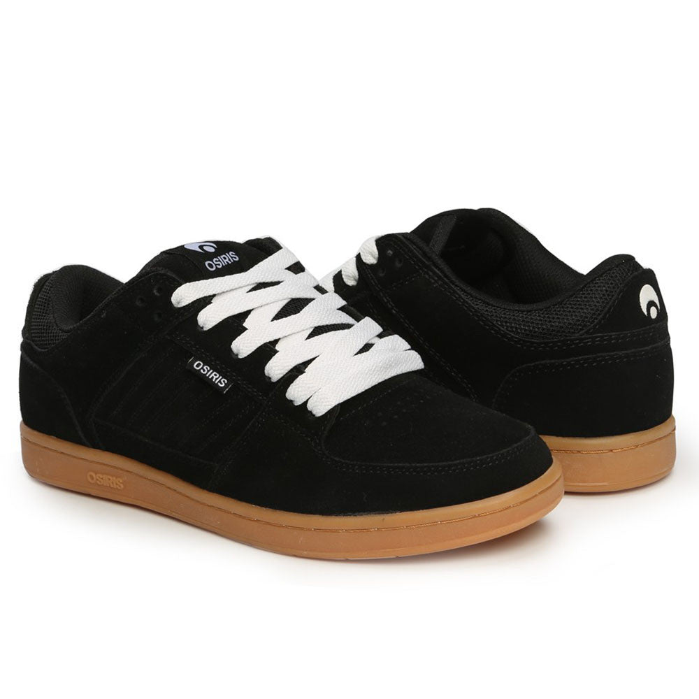 Osiris Protocol SLK - Black/Gum - Men's Skateboard Shoes