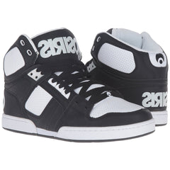 Osiris NYC 83 - Black/Black/White - Men's Skateboard Shoes