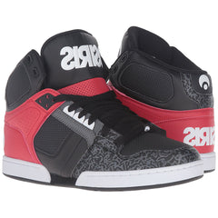 Osiris NYC 83 - Black/White/Grey - Men's Skateboard Shoes