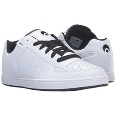 Osiris Relic - White/White/Black - Men's Skateboard Shoes