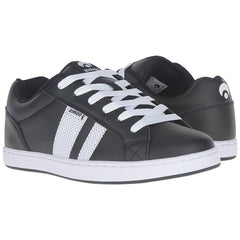 Osiris Loot - Black/White/White - Men's Skateboard Shoes