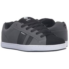 Osiris Loot - Charcoal/White/Black - Men's Skateboard Shoes