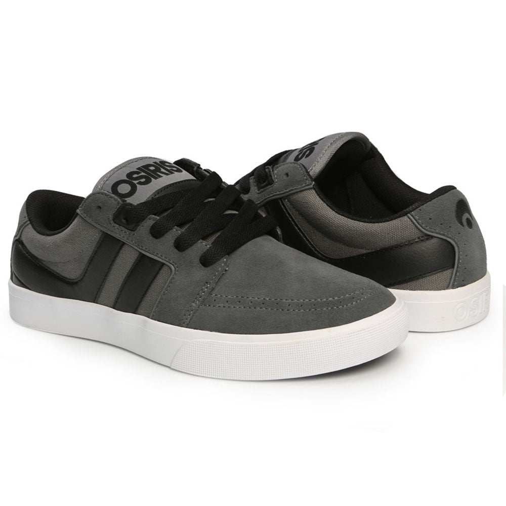 Osiris Lumin - Grey/White/Bingaman - Men's Skateboard Shoes