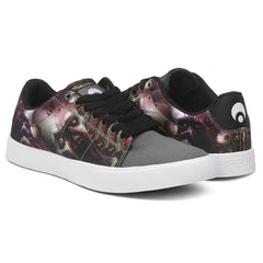 Osiris Rebound VLC - Grey/Black/Zombie - Men's Skateboard Shoes