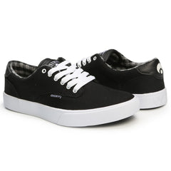 Osiris Slappy VLC - Black/White - Men's Skateboard Shoes