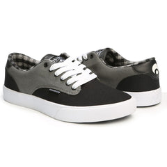 Osiris Slappy VLC - Charcoal/Black - Men's Skateboard Shoes