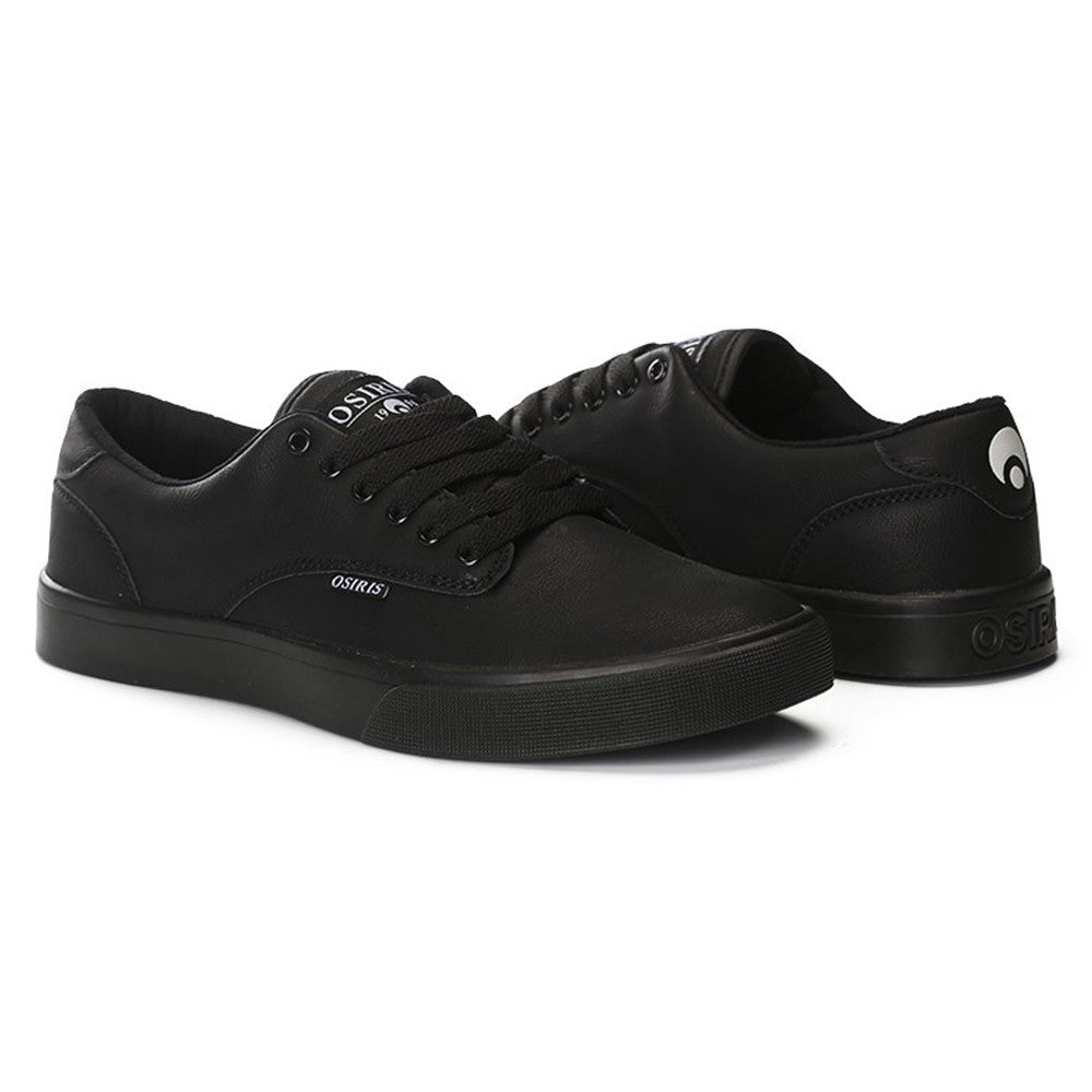 Osiris Slappy VLC - Black/Black - Men's Skateboard Shoes