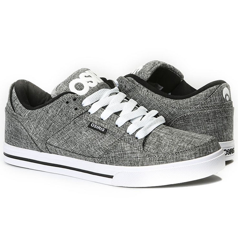 Osiris Protocol - Black/Text/White - Men's Skateboard Shoes