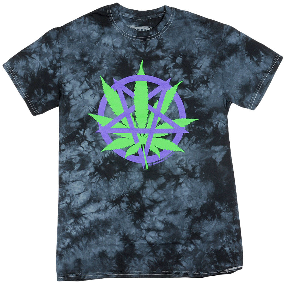 Real Devil's Harvest S/S - Black/Tie Dye - Men's T-Shirt