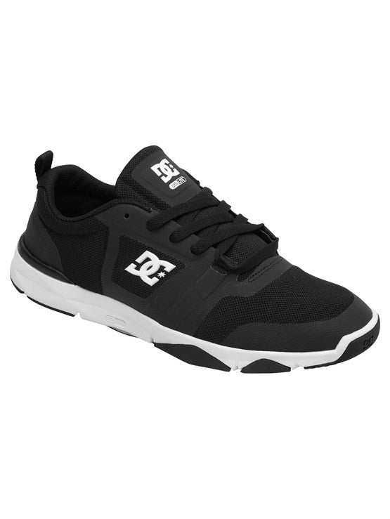 DC Unilite Flex Trainer - Black/Battleship/White - Men's Shoes