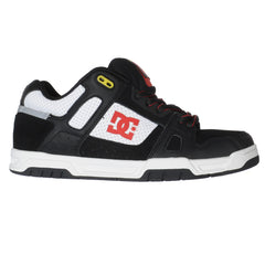 DC Stag Travis Pastrana - Black/White/Athletic Red - Men's Shoes
