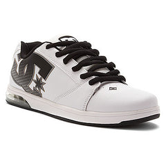 DC Raif VIZ - White/Black - Men's Shoes