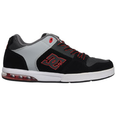 DC Racket - Black/Armor - Men's Skateboard Shoes