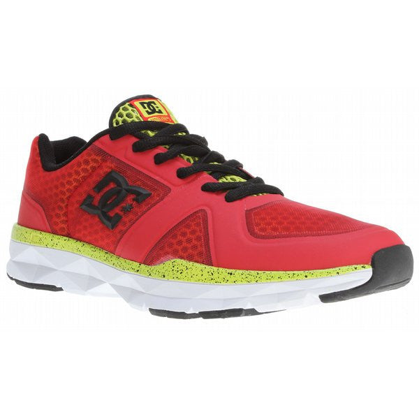DC Unilite Trainer - Athletic Red/White - Mens Skateboard Shoes